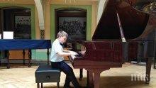 7-годишен пианист от Пловдив направи фурор във Виена