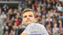 ПЪЛЕН КРАХ: Григор изпада от топ 70 след поражението от Вавринка