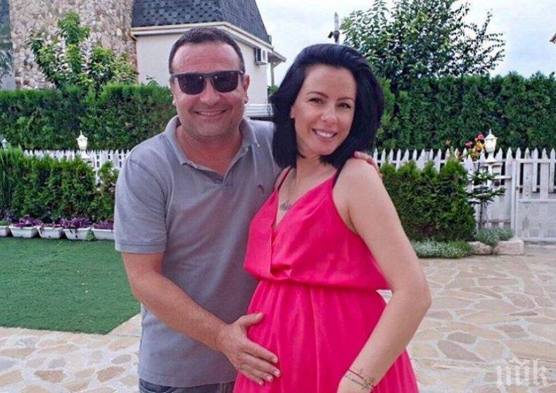 Рачков разсмива бебето на Криско