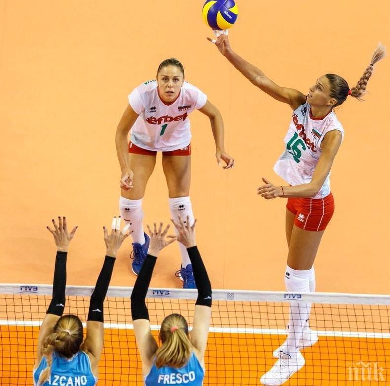 Волейболните националки тръгнаха с победа в олимпийската квалификация в САЩ