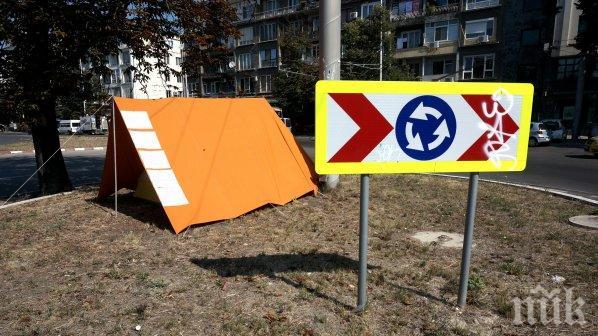 Искат кръгово кръстовище на опасен път край Свиленград