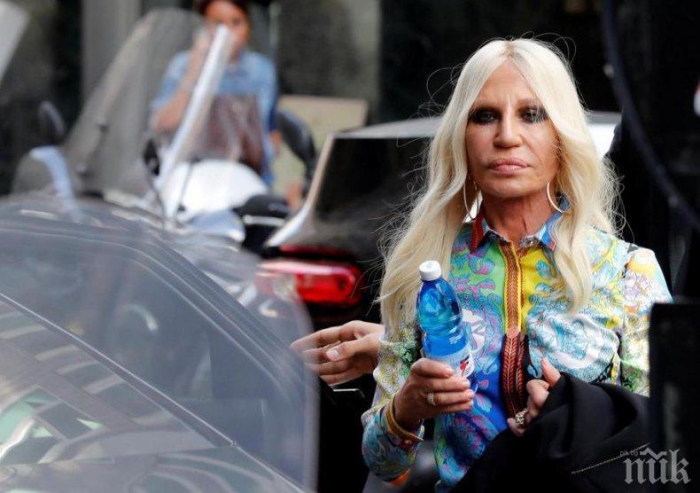 Донатела Версаче брои 5 млн. евро за вила