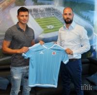Националът Васил Божиков с цял мач при трудна победа на Слован в Лига Европа