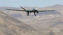 Американски военен дрон се разби в Ирак