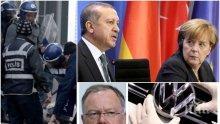 """Германски гражданин арестуван в Турция за фейсбук статуси срещу властта! Ще пратят ли Вайл и Меркел """"Фолксваген"""" в такава държава?"""