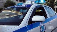 Български автомобил се нацели в патрулка в Гърция и избяга
