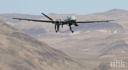 американски военен дрон разби ирак
