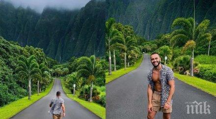 ДОБРЕ МУ ПЛАЩА: Фризьорът на Николета се глези на Хавайските острови