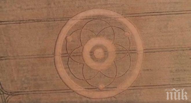 НЛО атакува София? Появиха се мистични кръгове в столичен квартал (СНИМКА)