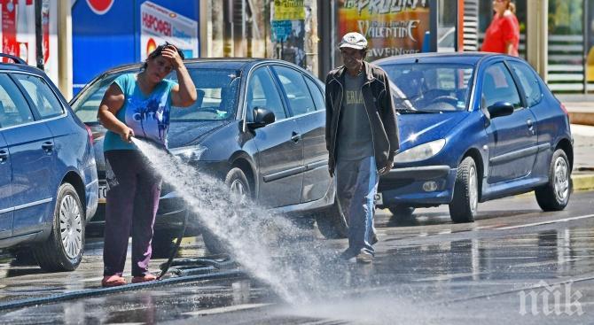 Мият улиците в София. Вижте къде и кога