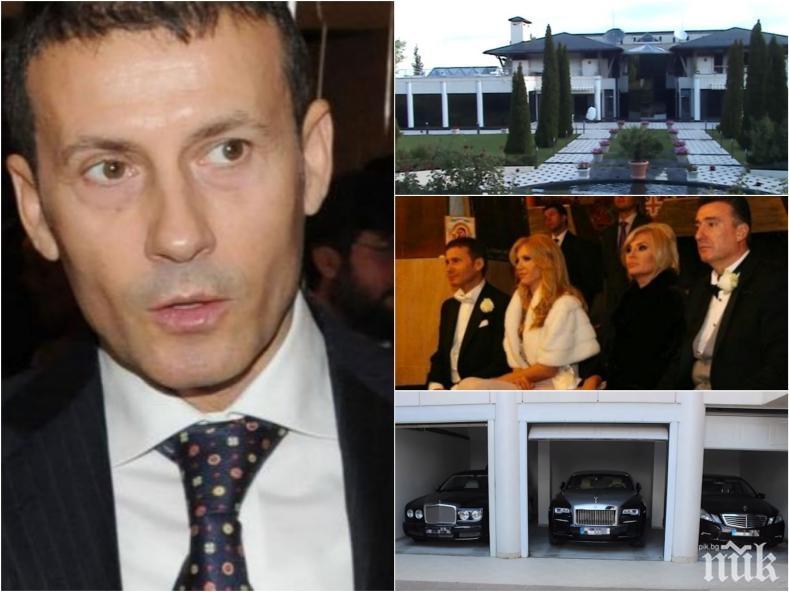 ПАНИКА: 20 бодигарда зарязват алкохолния бос Миню Стайков! Армията му сдава оръжията и колите