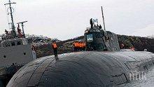 """Атомният крайцер """"Омск"""" се върна в Камчатка след модернизация"""