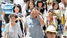 13 000 души с топлинен удар в Япония, жертвите са 23
