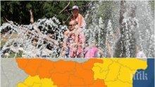 Жега от 41 градуса уби търговията в Сандански