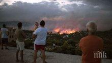 ОПАСНИ ЖЕГИ: 59 пожара са избухнали за последното денонощие в Гърция