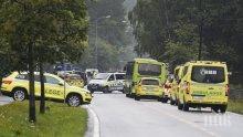 Норвежецът, открил стрелба в джамия край Осло, снимал случващото се