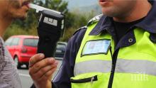 Трима пияни шофьори счупиха дрегера във Великотърновско само за денонощие