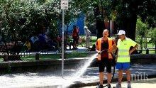 Мият улиците в 5 района в София, вдигат колите да не пречат