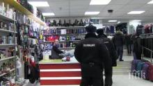 Яки борци потрошиха московски магазин (ВИДЕО)