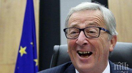 Жан-Клод Юнкер: Брекзит без сделка ще навреди най-много на Великобритания