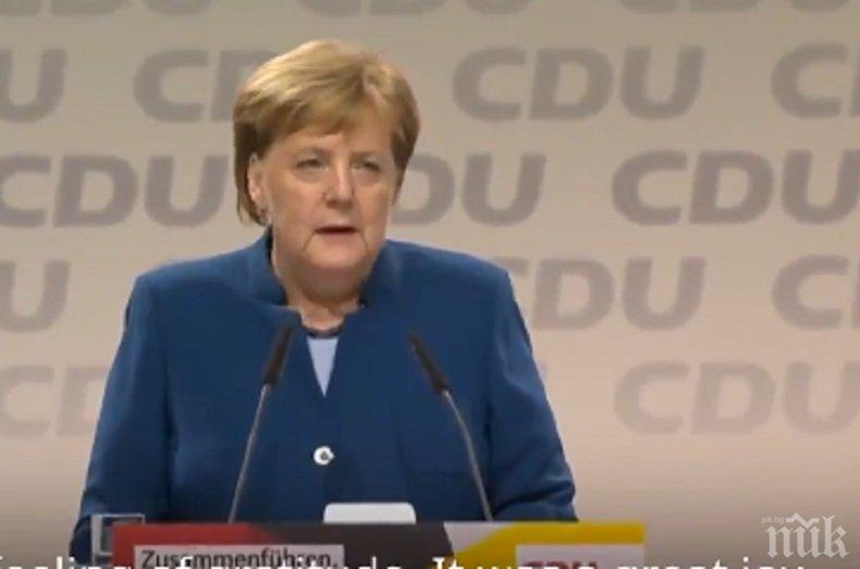 Меркел иска тясно партньорство между ЕС и Великобритания след Брекзит