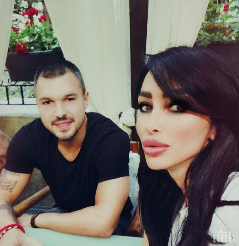 """ОБРАТ В САГАТА НА БОЖИНКАТА С БИЛЯНА ДОЛ: Сръбската красавица му прости за """"нагона"""" и пак кацна в хотела му във Враца"""