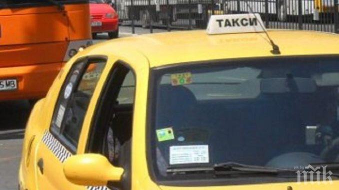 Шофьор без документи върти такси в Сандански