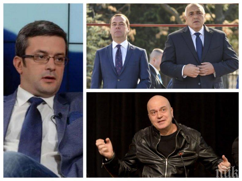 САМО В ПИК! Тома Биков: Радвам се, че Слави Трифонов се определи, за да види, че политиката е нещо по-различно от телевизионно шоу