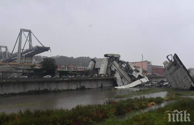 ГОДИНА СЛЕД ТРАГЕДИЯТА: Рухналият мост в Генуа не е бил поддържан от 25 години