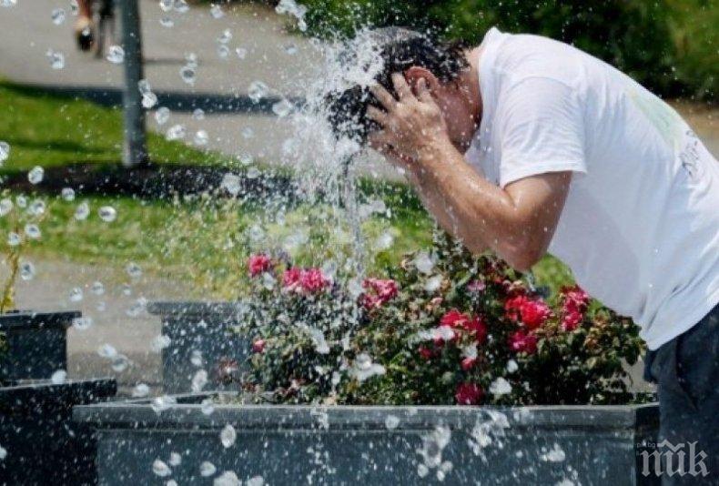 Десетки колабирали в София заради жегата