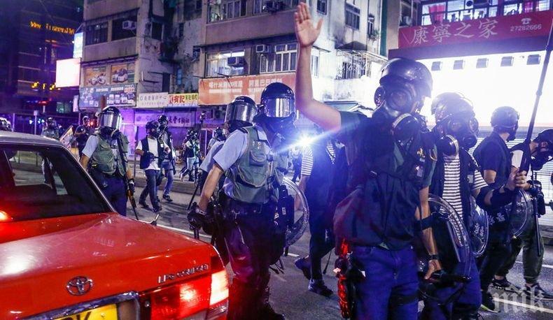 Френските власти призоваха протестиращи и власти в Хонконг да подновят диалога