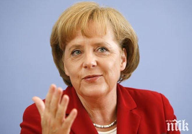 Меркел обеща Германия да се движи към военни разходи от 2% и след 2024 година