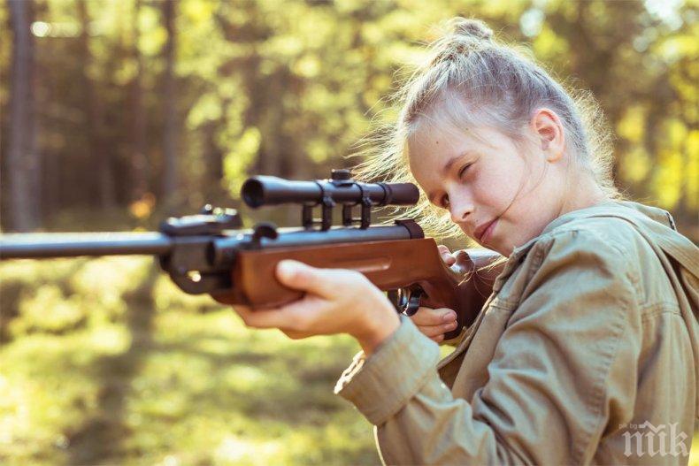 9-годишна простреля сестра си с въздушна пушка