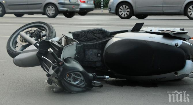 Холандец със скутер пострада при катастроха в Разград
