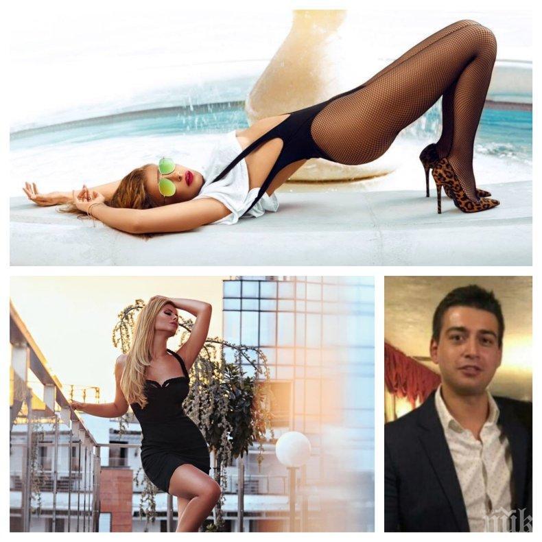 ИНТРИГА: Анелия се отърка в млад милионер - чалга дивата опасно близка с бившия мъж на колежката си Емануела (СНИМКА)