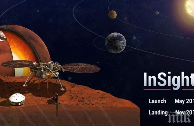 КОСМИЧЕСКА ОДИСЕЯ: Името ви ще отиде на Марс, само напишете писмо
