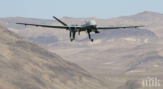 Пуснаха турски дронове в Сирия