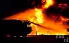 Бедствие в Измир, гори силен пожар