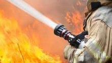 НА КОСЪМ: Джип с две деца пламна в движение на Предела