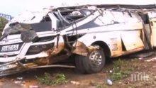 Бензиновоз се е взривил в Уганда, има десетки загинали