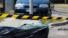 """ТРАГЕДИЯ НА МАГИСТРАЛАТА! Жена с """"Мерцедес"""" уби пешеходец на """"Тракия"""""""