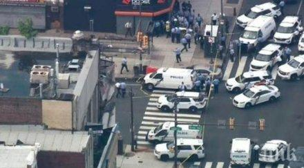 Стрелецът, ранил най-малко седем полицаи във Филаделфия, отказва да се предаде (ВИДЕО)