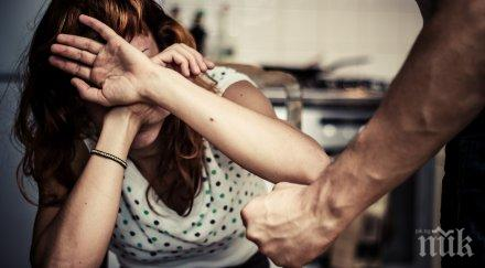 годишен мъж задържан побой жена закани убийство