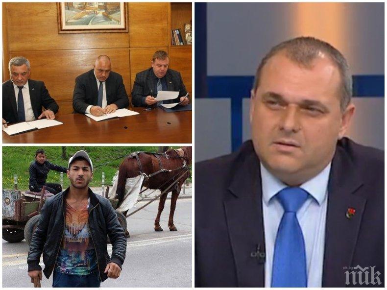 САМО В ПИК! Патриотът Искрен Веселинов с взривяващ коментар за бъдещето на споразумението с ГЕРБ и циганската престъпност: Коалицията е стабилна и никой не говори за развалянето й!