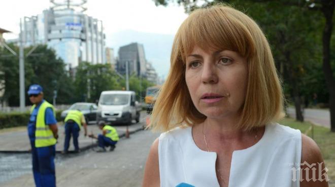 Фандъкова с добра новина за ремонтите в София