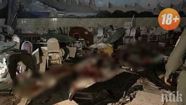 Терорист-смъртник се взриви и окървави сватба в Кабул! Жертвите са 63, ранените - над 180
