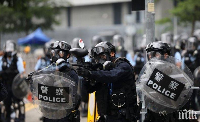 Китай призова ЕС да не се меси в кризата в Хонконг