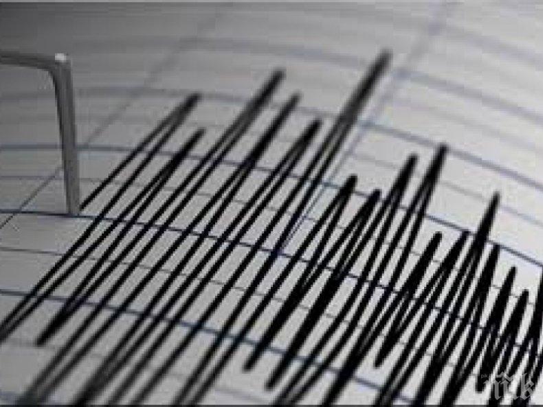 Край бреговете на Мексико бе регистрирано земетресение с магнитуд 5.8 по Рихтер
