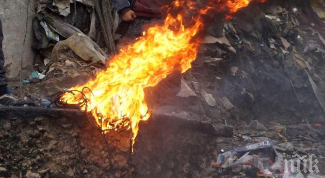 OT ПОСЛЕДНИТЕ МИНУТИ: Сметището на Свищов пак пламна - кметът обяви бедствено положение