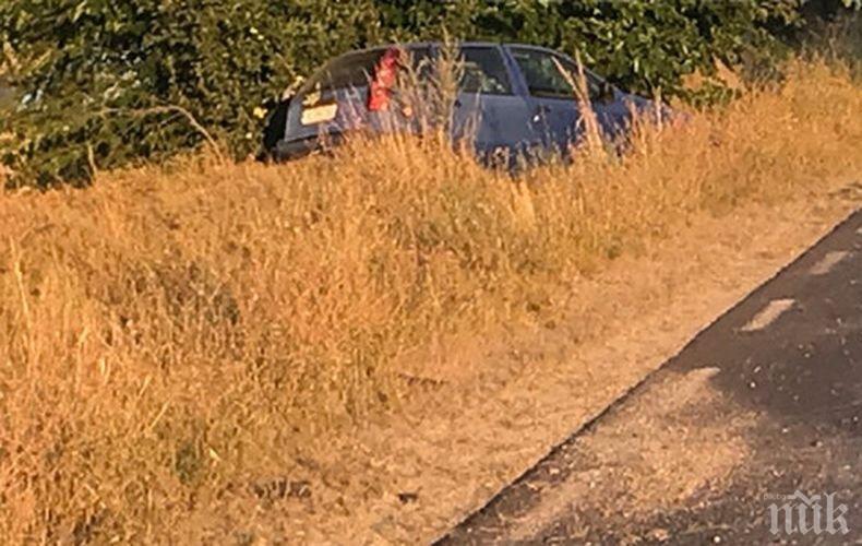 Катастрофа блокира Подбалканския път, има пострадал (СНИМКА)